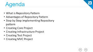 Repository Pattern C Custom Ideas