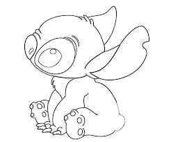 Disney Lilo And Stitch Coloring Pages Free Printable Lilo And