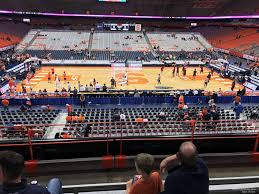 Carrier Dome Section 212 Syracuse Basketball
