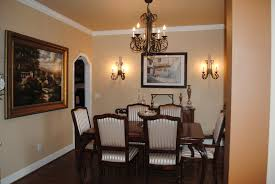 dining room top notch designs with wall sconces for agreeable decorating ideas using black glass chandeliers and rectangular brown wooden tables also