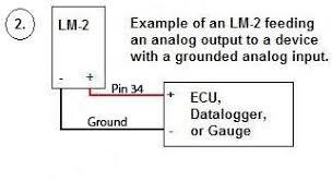 ego sensor team bleu bayou figure 3 wiring diagram lm 2 controller to microsquirt®