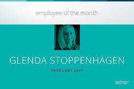 asher agency linkedin congratulations to our employee of the month the first person to greet many of our fort wayne ors glenda stoppenhagen