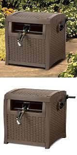 hideaway hose storage box garden hose