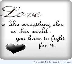 Quotes About Fighting For Love Enchanting Quotes About Fighting For Love 48 Quotes