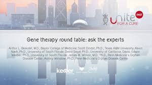 gene therapy round table ask the experts