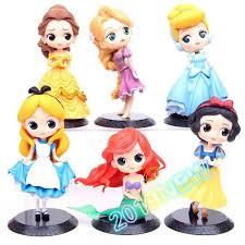 <b>Disney</b> Children's Toy <b>Princess</b> Cute Doll Cartoon Statue 15cm ...