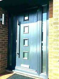 Modern exterior door handles Black Modern Exterior Door Hardware Front Entry Knobs Contemporary Schlage Modern Entry Door Hardware Kosnica