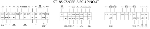 mwp's toyota celica gt4 (st165, st185, st205) documents & media 4th Gen 3SGTE Throttle Body at 3sgte 4th Gen Wiring Diagram