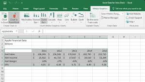 Bdo Enhancement Chart How To Create A Chart From Excel Data Mekko Graphics