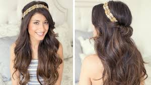 Hairband Hairstyle Twisted Hair Band Youtube 1863 by wearticles.com