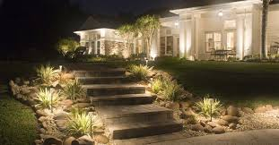 Outdoor Yard Lighting Ideas 5 Great Ways To Light Your Outdoor Steps Outdoor