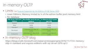 sql server 2016 editions comparison chart how sql server 2016 sp1 changes the game