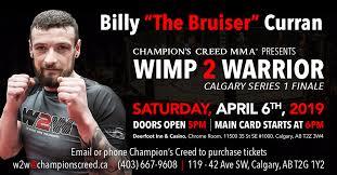 Wimp2Warrior: Billy Curran
