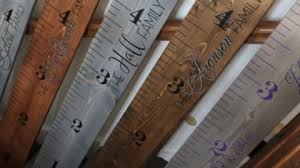 Pottery Barn Inspired Growth Chart Ruler