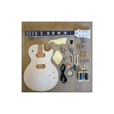 les paul set in neck 6 string custom build your own electric guitar kit