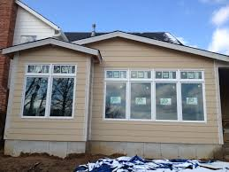 Ply Gem Mira Wood Clad Quad And Twin Mulled Windows With Quad And - Exterior transom window