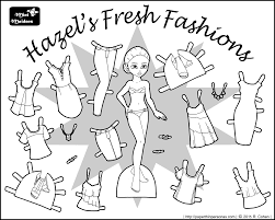 Small Picture Hazels Fresh Fashions A Paper Doll