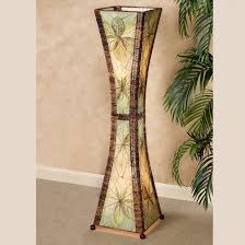 tropical table lamps. Brunei Jackfruit Leaf Tropical Hourgl Floor Lamp Sofas Couches Home Entertainment Kids Furniture Lamps Table