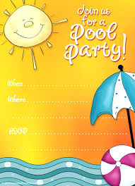 baby pool party invitations pool party invitations kitty baby love pool party birthday invitation wording kid pool party invitation