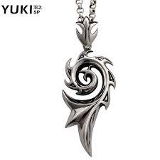 yuki925 silver dragon wings silver necklace men silver pendant sterling silver pendants male domineering male silver jewelry personalized influx of