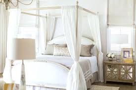 Sheer Curtains For Canopy Bed King Size Canopy Bed Frame Beautifully ...