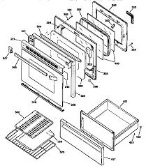 general electric jbp78gs1bb electric range timer stove clocks and jbp78gs1bb electric range door and drawer parts diagram