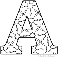 One of such methods are coloring pages with english letters and alphabet. Stencils Free Letter Number And Alphabet Stencils Patterns Printable Alphabet Letters Alphabet Coloring Pages Alphabet Stencils