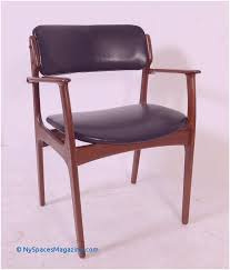 modern black leather dining chairs best teak arm chair erik buck