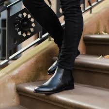 Learn my thoughts about chelsea boots for short men, and see how i wear them. Cavalier Black In 2021 Black Leather Chelsea Boots Black Chelsea Boots Outfit Black Chelsea Boots
