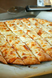 Pizza Dough Recipe With Cheesy Garlic Breadsticks Laurens Latest