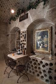 wine bottle holder ideas wine cellar terranean with wine tasting table metal chairs wine storage