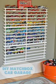 a LO and behold life: DIY Matchbox Car Garage for when we have a playroom