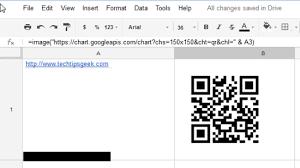 Google Charts Qr Code Generate Qr Code In Google Drive Using Google Chart Api