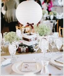 Photography: Bloombox.com | Wedding Hot Air Balloon Centerpiece - more at  diyweddingsmag.