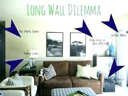 how to decorate big empty wall how to decorate a large blank wall how to decorate