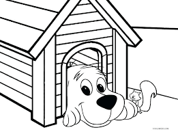 Clifford The Big Red Dog Coloring Pages Printable Coloring Pages