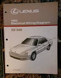 1997 lexus es300 es 300 electrical wiring diagram service shop 1993 lexus es300 electrical wiring diagram shop service repair manual ewd