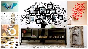 Tree Stickers Wall Art Project Picture Photos Inventive Diy Beautiful  Colorfull Wooden Stained Contemporary ...
