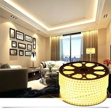 led strip room led strip living room ceiling high bright colorful waterproof flexible strip band white