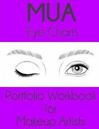 Makeup Artist Eye Charts Mua Eye Charts Portfolio Workbook For Makeup Artists Sigga Edition Paperba 9781530044153 Ebay