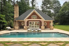pool house. Pool House Traditional-pool