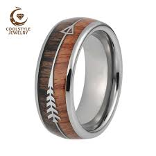 Tungsten Carbide Ring Size Chart 8mm Mens Tungsten Carbide Rings Womens Wedding Bands Koa