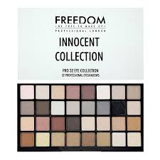 freedom makeup london pro 32 innocent collection
