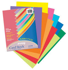 Amazon Com Pacon Card Stock 8 1 2 Inches By 11 Inches Colorful