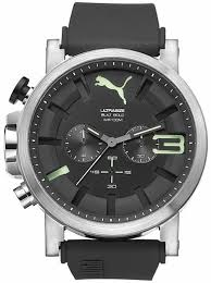 men s puma ultrasize black and green silicone chronograph watch pu103981005 10 gif men s puma ultrasize black and green silicone chronograph watch pu103981005