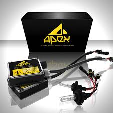 com apex h11 h8 h9 xenon hid conversion kit 6k 6000k diamond white all bulb sizes and colors with premium digital ballasts hids kits
