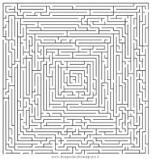 Disegno Labirintomoltodifficile07 Categoria Giochi Da Colorare
