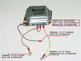 voltage regulator wiring diagram Alternator Regulator Wiring Diagram ford voltage regulator wiring diagrams junk yard genius alternator voltage regulator wiring diagram