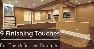 Unfinished Basement Design Beauteous Basement Remodeling 48 Finishing Touches For The Unfinished Basement