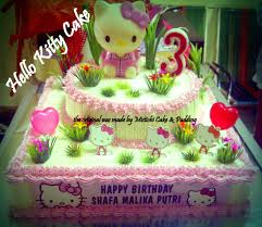 Hello Kitty Bday Cake For Wawa Mistichi Site